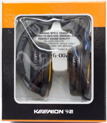 Наушники Keenion G002 HI-FI Black полноразмерные
